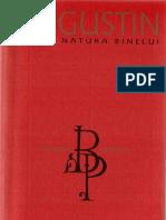 Sf Augustin - Despre Natura Binelui