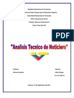 Analisis Tecnico Audiovisual