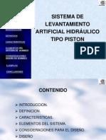 Bombeo Hidraulico - Piston