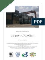 Le Port d'Abidjan - Rapport PNUE 2009