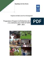 Programme d'Appui à la Réduction de la Pauvreté PARP-OMD