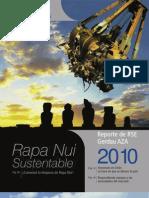 Reporte RSE Gerdau AZA 2010