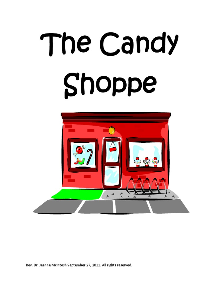 The Candy Shoppe Christmas Musical for Kids | Sin | Forgiveness