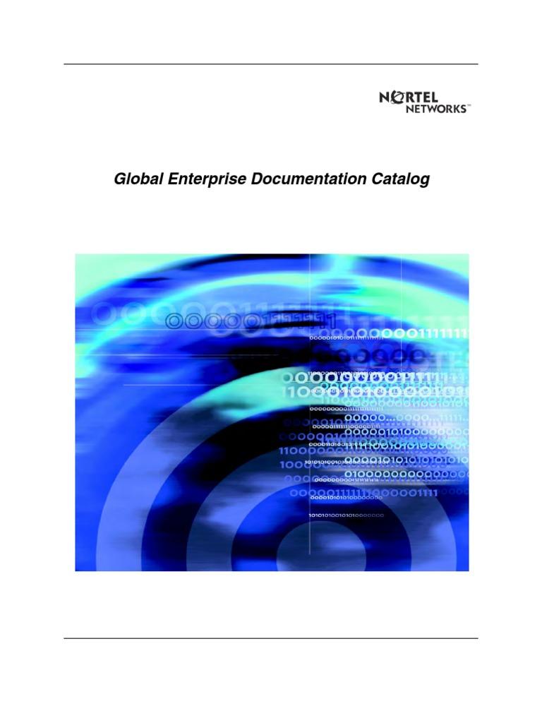 Nortel Meridian Technical | Computer Network | Telecommunication