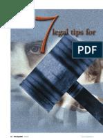 7 Legal Tips for Safe Nursing Practices