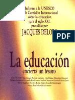 La Educación Encierra un Tesoro-Delors