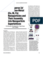 3d Assembly of Fe Co Ni Nano Particles