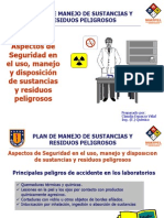 Quimica i - Seguridad Lab Oratorio