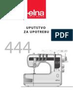 ELNA 444 uputstvo SRB