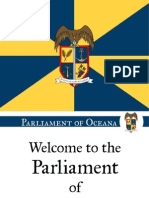 Parliament of Oceana Welcome Presentation
