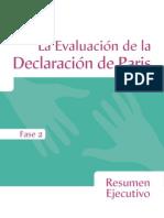 Evaluacion declaraaciòn de Paris