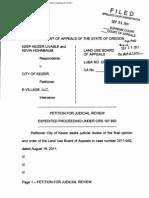City of Keizer judicial review petition