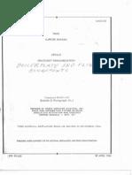Apollo Familiarazation Manual Boilerplate and Flight Assignments