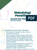 03 Asumsi Dan Hipotesis