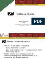 Incidencia Pública - GP
