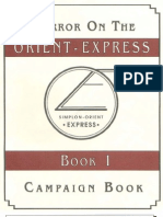 2331 - Horror on the Orient Express - Campaign Book