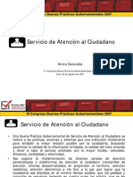 Servicio de Atención al Ciudadano - GP