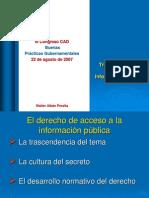 Transparencia y Acceso a la Información  pUBLICA -GP