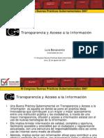 Transparencia y Acceso a la Información -GP