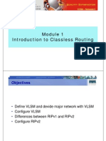 CCNA3 M1 Introduction Classless Routing