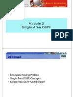 Ccna3 m2 Single Area Ospf