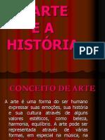 A ARTE E A PRÉ HISTÓRIA