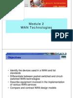 CCNA4 M2 WAN Technologies