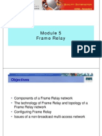 CCNA4 M5 Frame Relay