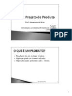 PP Aula 01 IntroduþÒo Projeto 100809