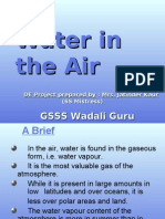Water in Air