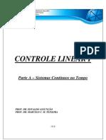 Apostila de Controle Linear I