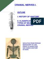 Cranial Nerves 1 Lectureff