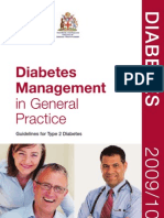 Diabetes Management in GP 09