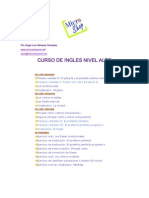 Curso de Ingles - Micro Shop - Nivel Alto (Em Espanhol)
