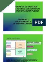 Tecnicas y Procedimientos de Auditoria Interna