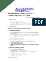 JURISDICCIÓN Y COMPETENCIA EN EL NCPP