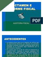 Dictamen e Informe Fiscal Final