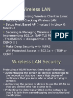 Presentation III Securing and Management Wireless LAN Using 802