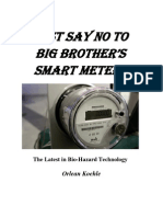Just Say No to Big Brother's Smart Meters