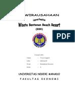 Laporan Penelitian Usaha Bentenan Beach Resort