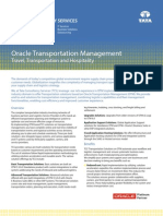 TTH Brochure TCS Oracle Transportation Management Solutions 01 10