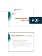 Metododología de la enseñanza de la AF (Tema 2)