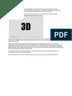 Tutorial de 3D Adobe Photoshop CS5 Extended
