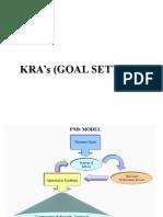 Goal Setting -KRA