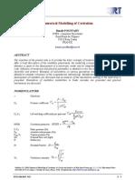 Numerical Modelling of Cavitation Tr Interressant