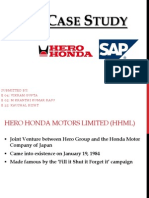 ERP Case Study-Hero Honda