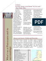 Art, Marble and Tourism - Newsletter December 2008