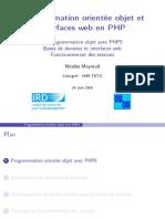 Cours POO Et IHM en PHP
