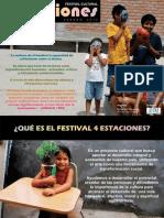 Brochure presentación Festival 4Estaciones 2012