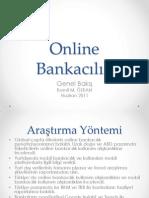 Online Bankacılık sunum
